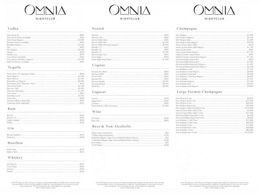 Omnia – Caesars Palace