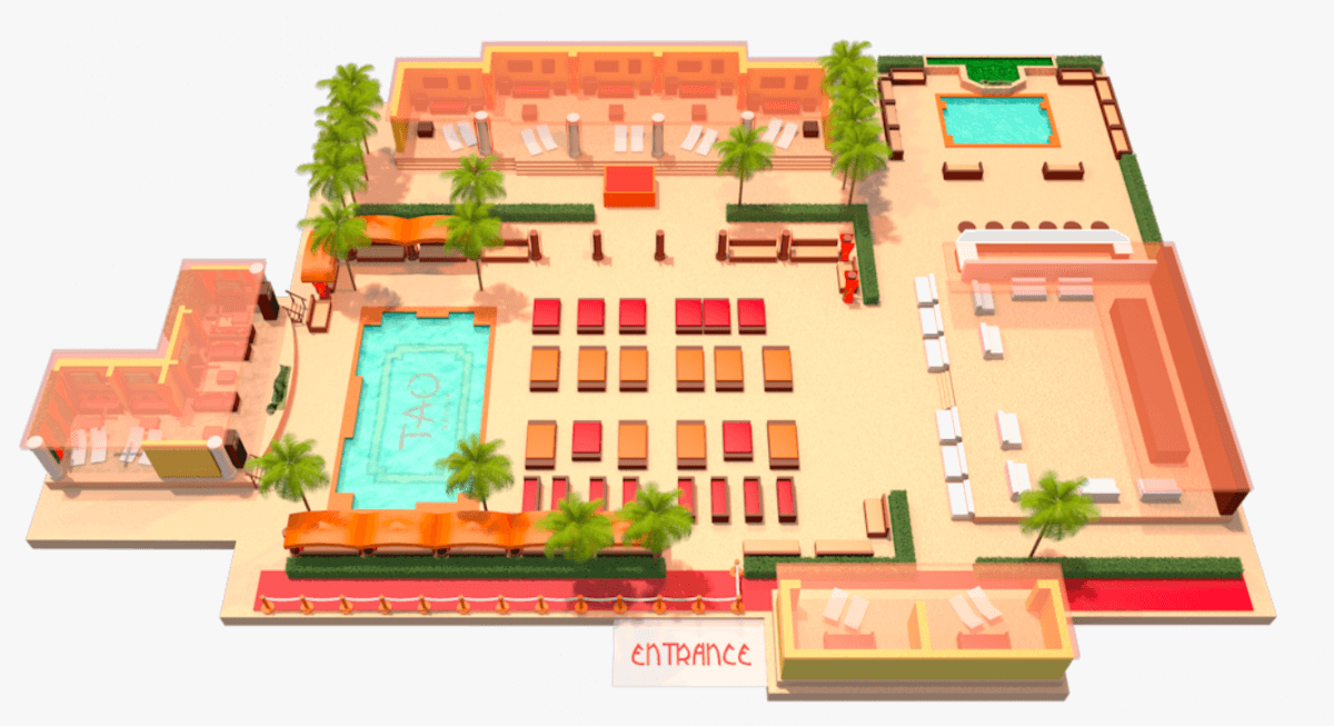 Tao Beach - Venetian Hotel