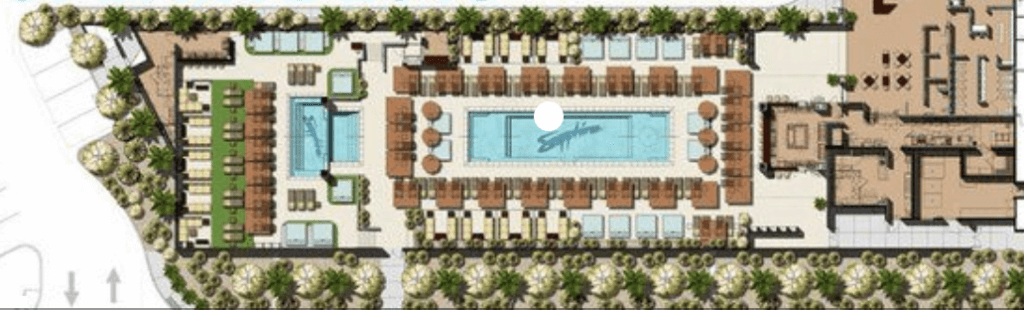 Sapphire Pool Map