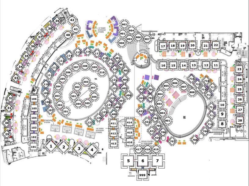 Kaos Dayclub Table Map