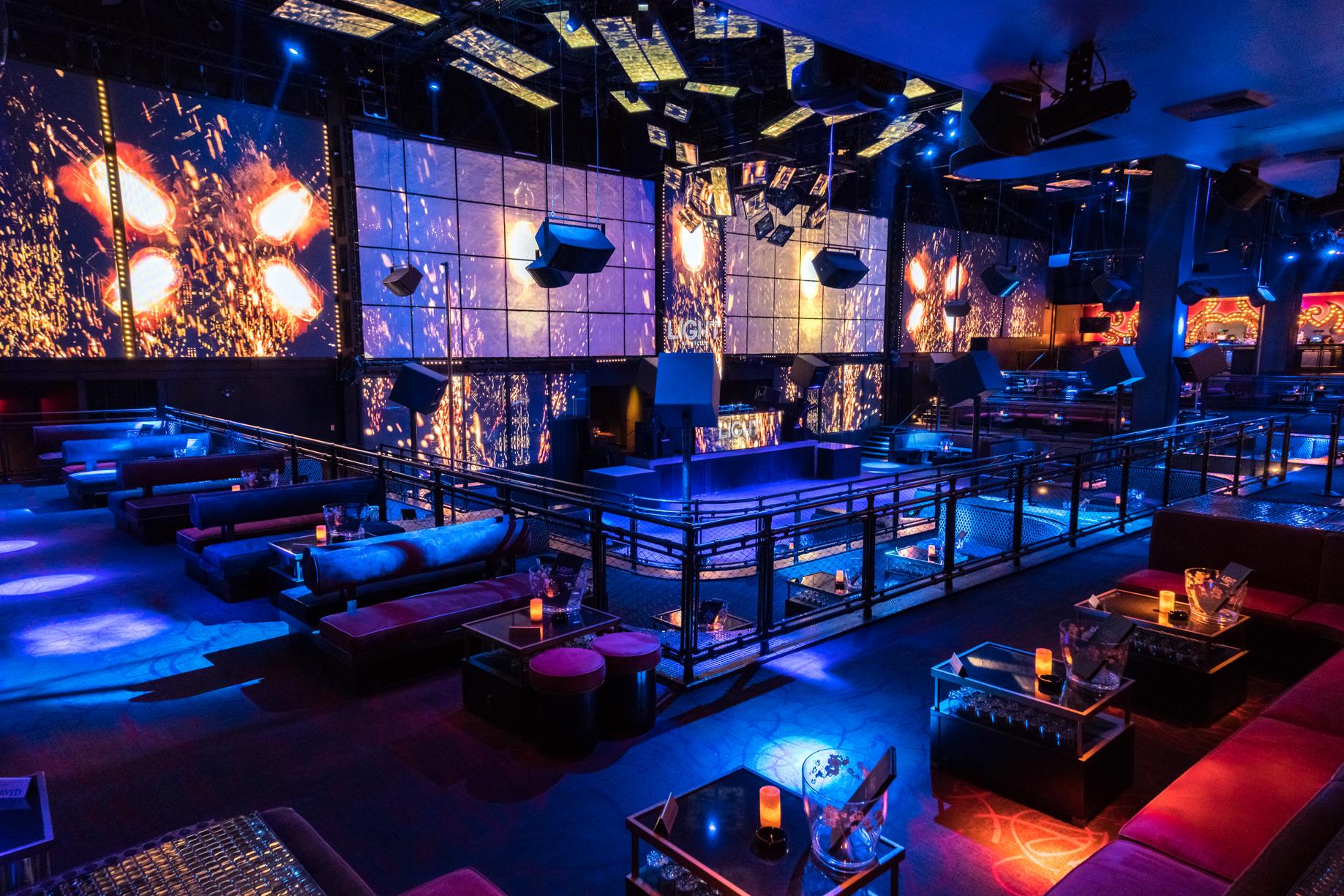 Las Vegas Nightclubs Light
