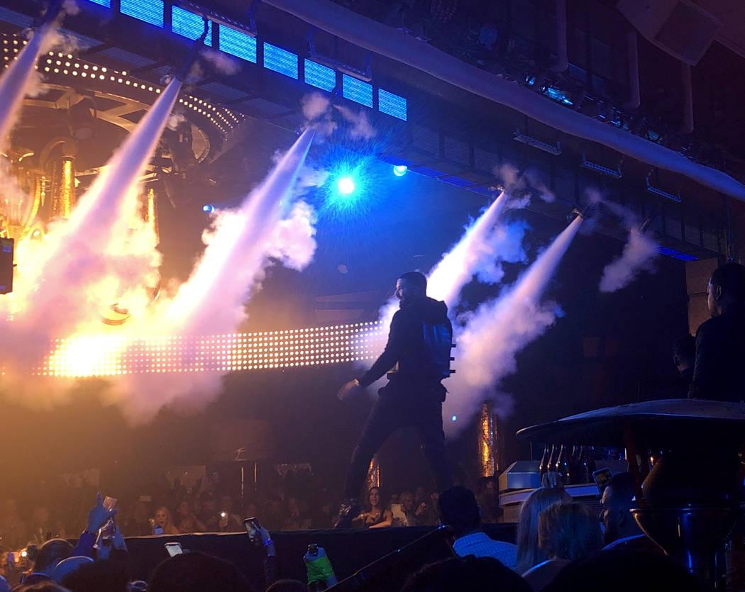 XS Las Vegas Nightclub Drake