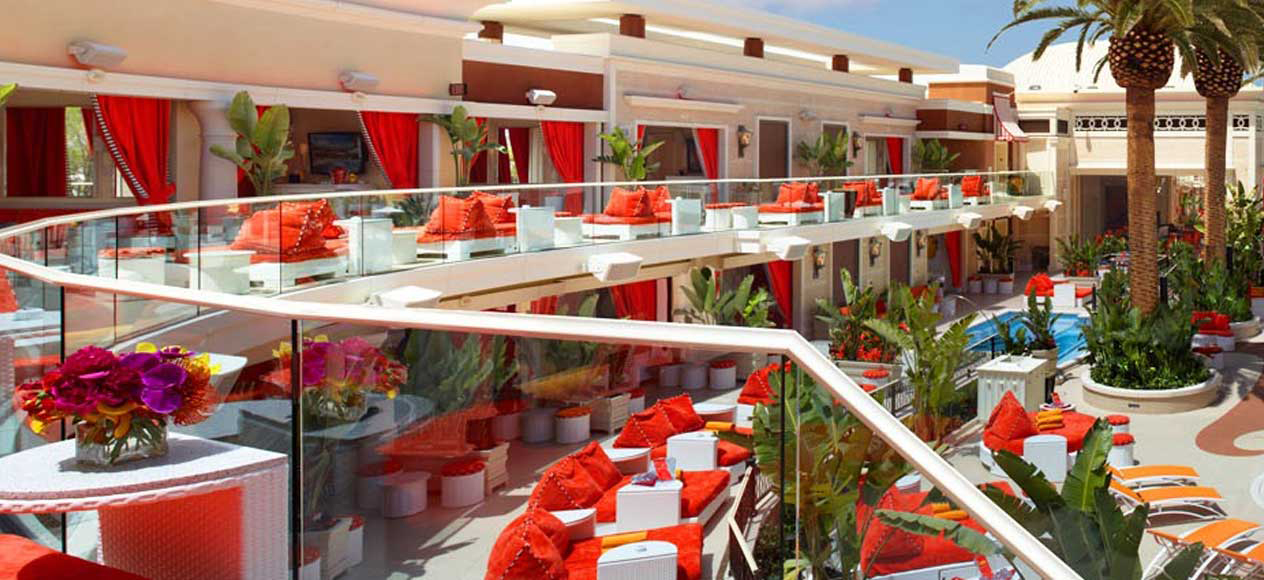 Encore Beach Club Upper Cabana Las