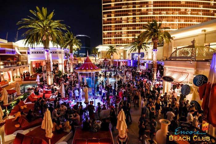 Encore Beach Club Nightclub Las Vegas 2020