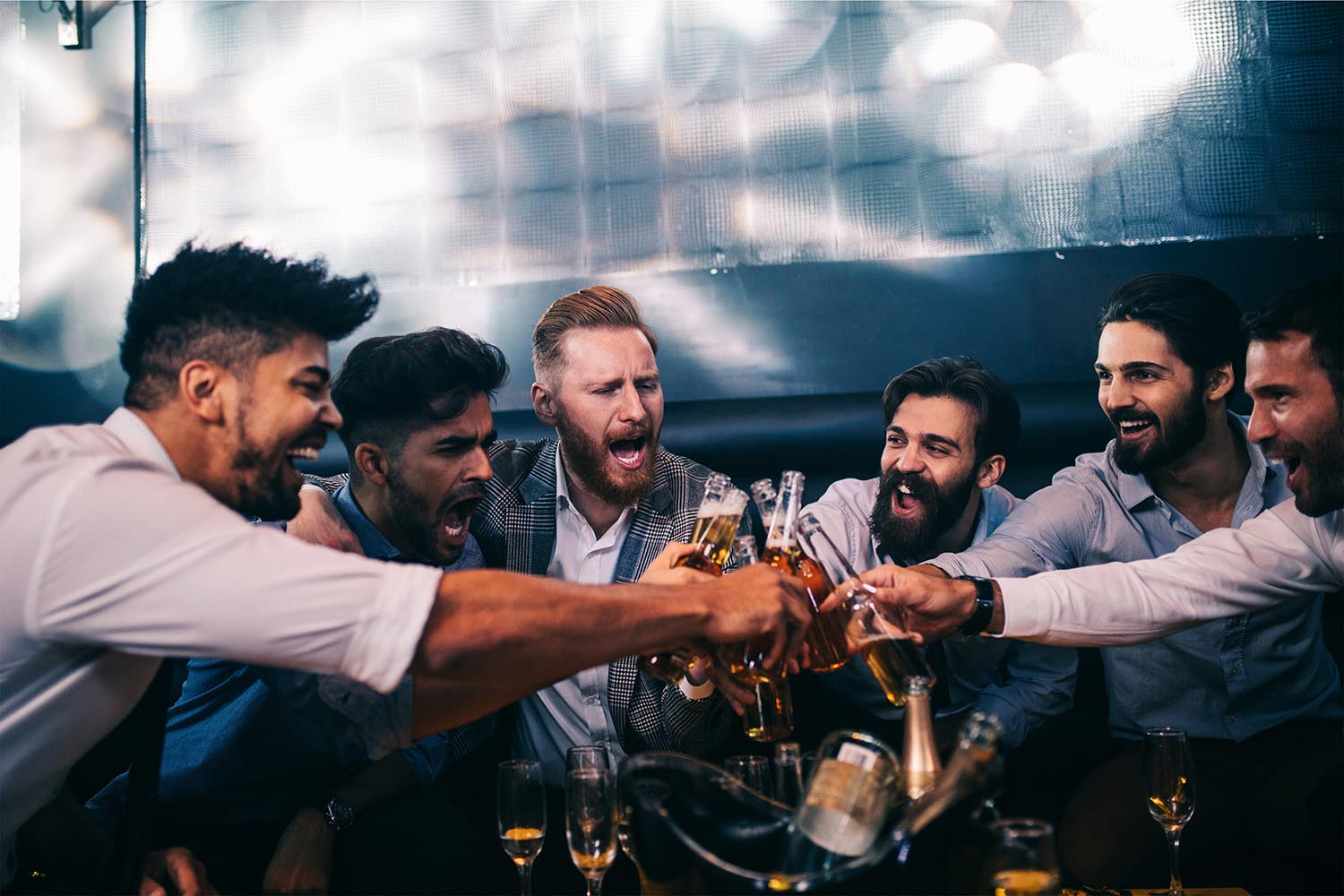 Bachelor Party With Bottle Service in Las Vegas